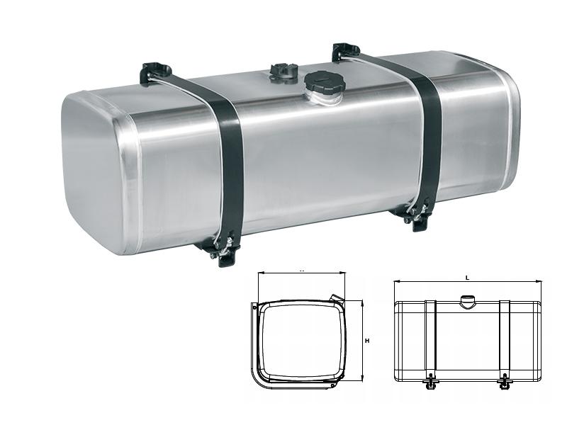 Mercedes benz universal aluminium fuel tanks optima for Mercedes benz fuel tank