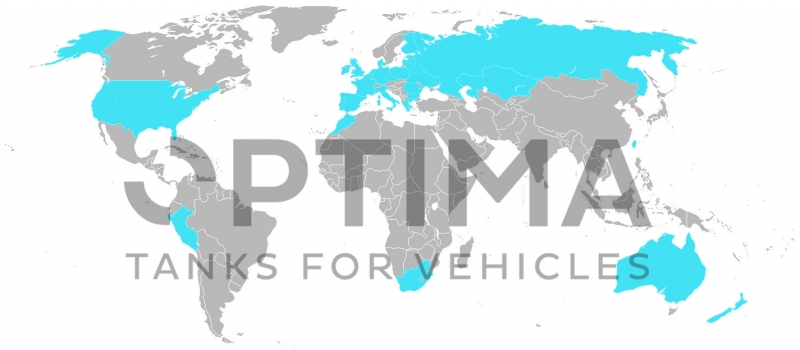 Optima Tanks in the world